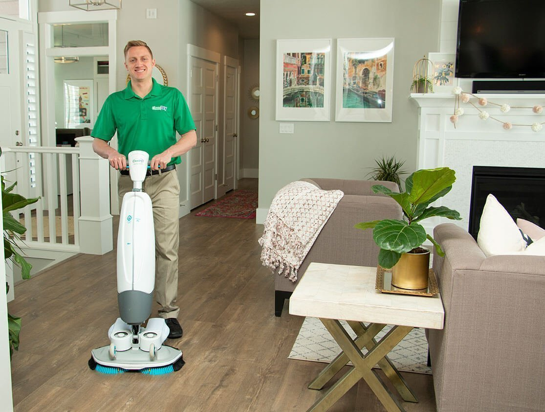 wood floor cleaning hickory