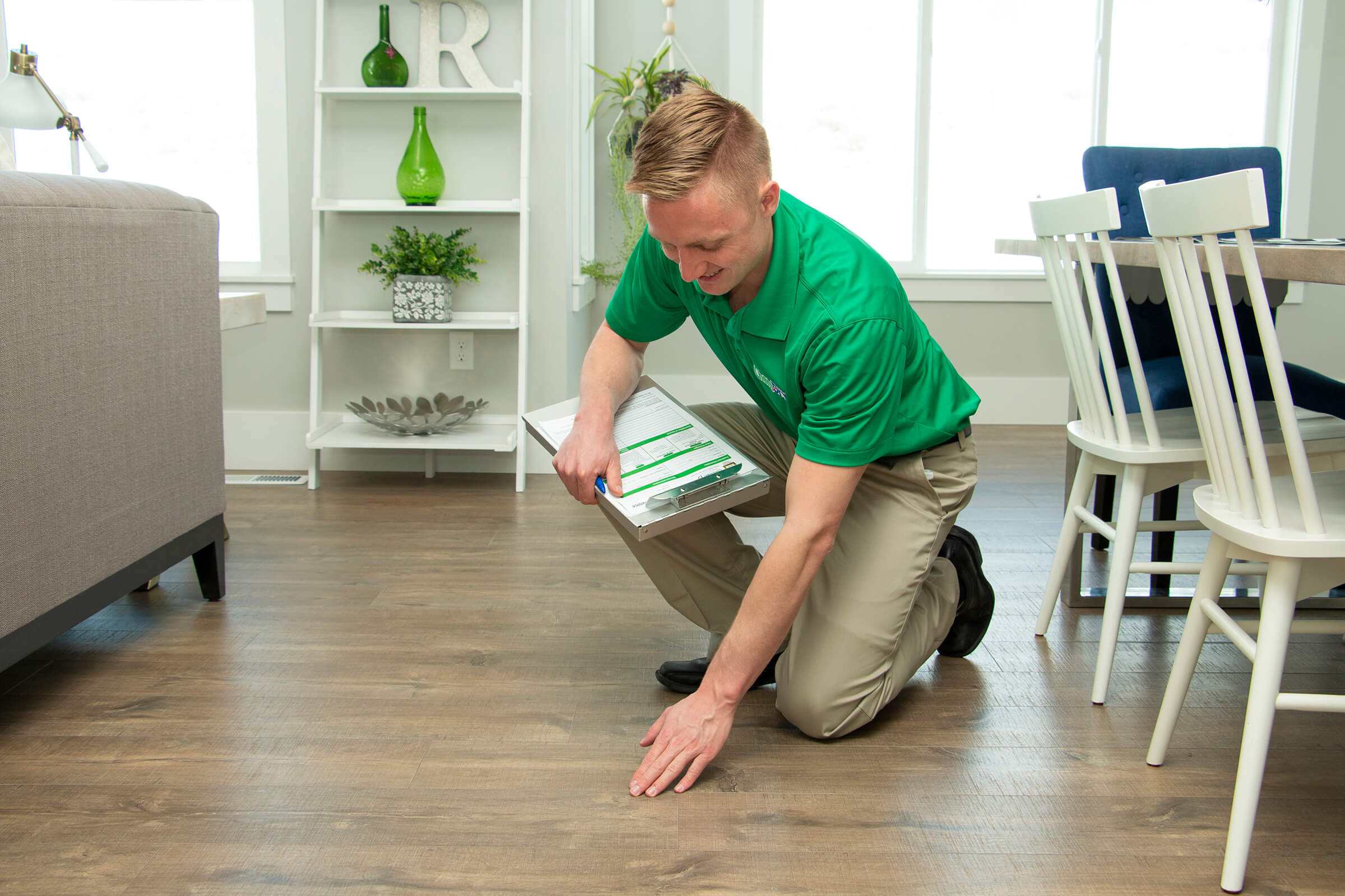 wood floor cleaning service hickory