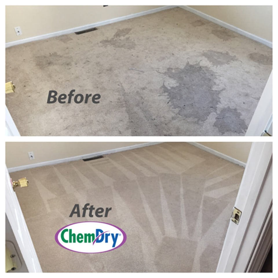 before and after carpet cleaning in charlotte nc