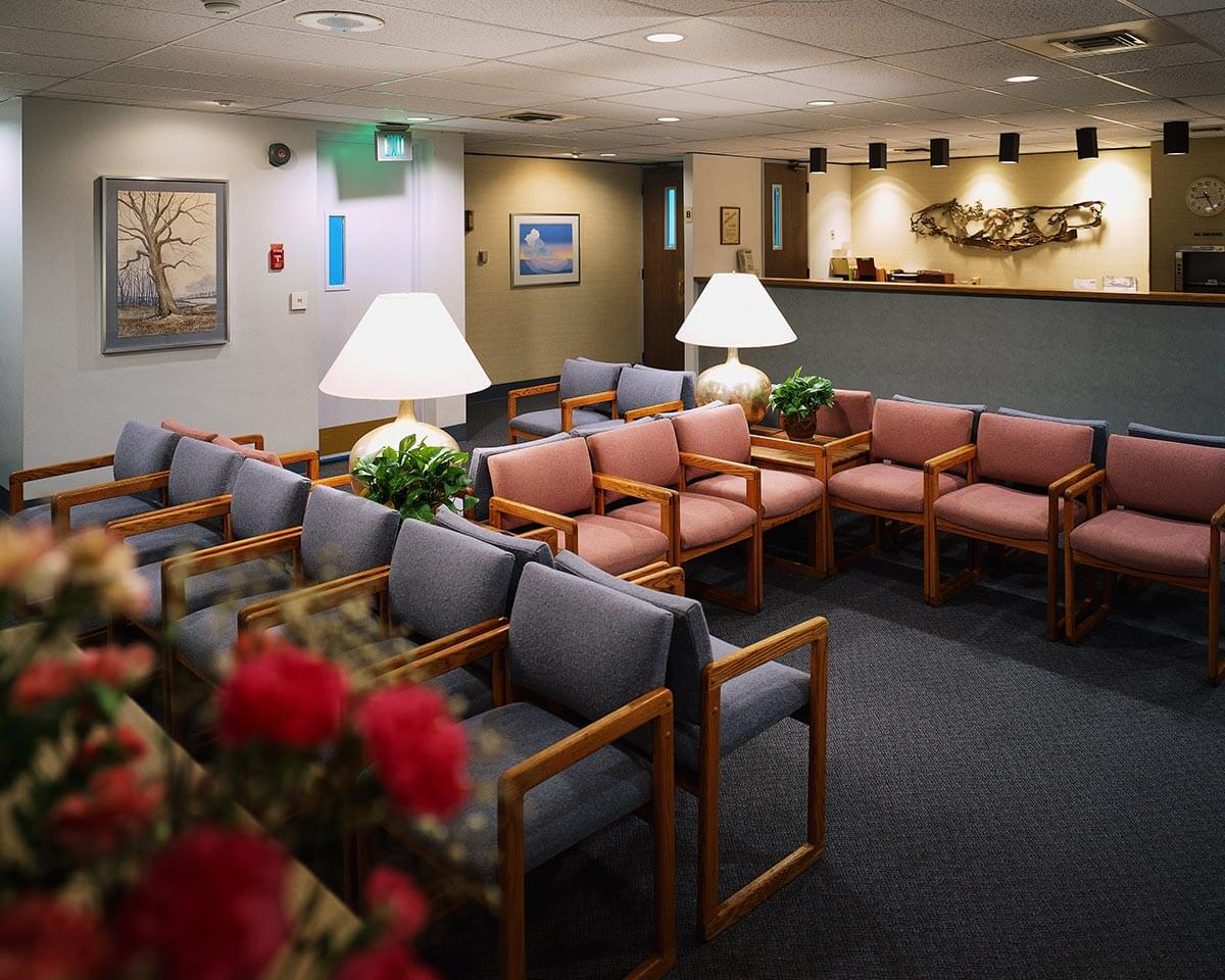commercial waiting room in hickory nc