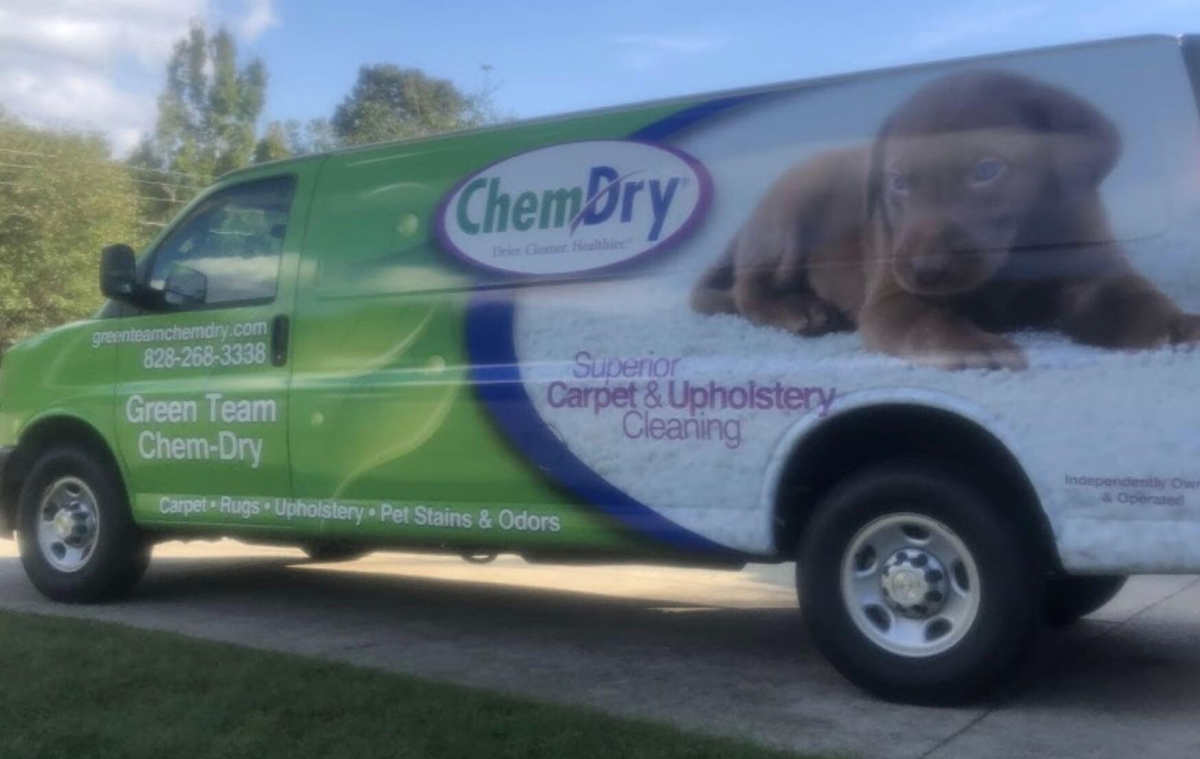 green team chem-dry van