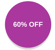 60% off callout